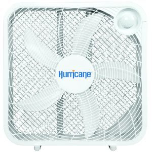 Hurricane 736501 Classic Series Portable Floor Fan, 20, Classic and Best Box Fan, White