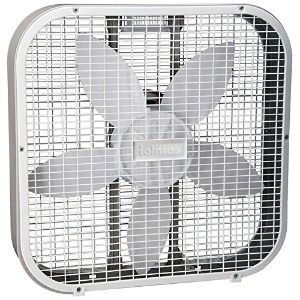 Holmes HBF2010AWM 20 White 3 Speed Box Fan
