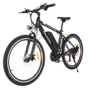 "ANCHEER 26"" Best Electric Bike under 1000 with 500 Watts"