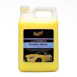 MEGUIAR'S G17701 Ultimate Wash & Wax, 1. gallons