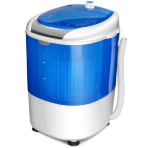 COSTWAY Mini Washing Machine with Spin Dryer, Electric Compact Laundry Machines...