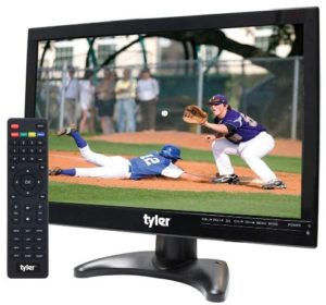 Tyler TTV705-14 14 Portable Battery-Powered LCD HD TV Television with HDMI, USB, RCA, and SD Card Inputs