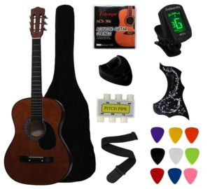 YMC Coffee Acoustic Guitar, Always Get Fair Price of Best Cheap Acoustic Guitar