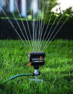 Melnor MiniMax Turbo Oscillating Sprinkler, One of best sprinkler heads