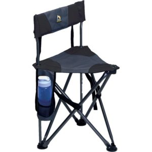 GCI Outdoor Folding Tripod Field Chair with Backrest