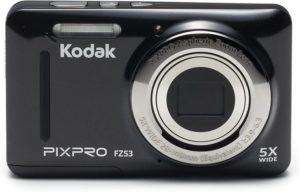 Kodak PIXPRO Friendly Zoom FZ53-BK 16MP Digital Camera with 5X Optical Zoom and 2.7 LCD Screen (Black)