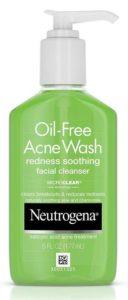Neutrogen Oil-Free Acne & Redness, BEST FACE WASH for Oily SKIN