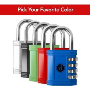 Padlock Best Lock for Storage Unit, Garage, Fence and Outdoor with Digit Lock
