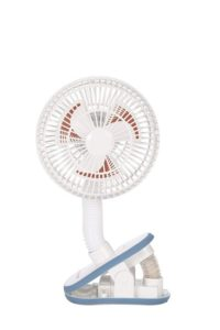 Diono Best Stroller Fan, Clip On Fan, White