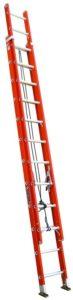 Louisville Ladder Fiberglass Extension Ladder, 300 pounds weight capacity (136kg), 24 feets (7.3m)