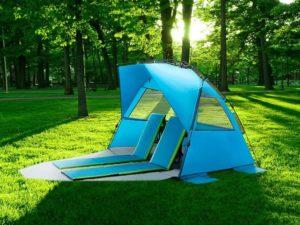 Pacific Breeze Beach Tent Deluxe XL