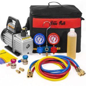 XtremepowerUS 3CFM 1 4HP Air Best Vacuum Pump HVAC R134a R12 R22 R410a