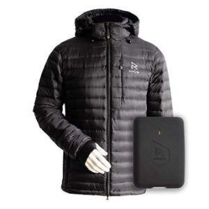 Ravean – The Best heated jacket w Detachable Hood & Rechargeable 12V Battery