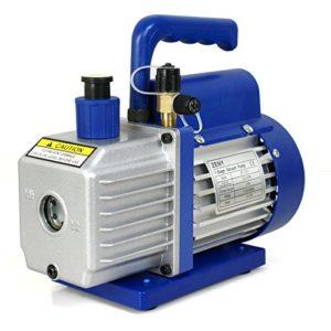 ZENY 3,5CFM Single-Stage 5 Pa Rotary Vane Economy Best Vacuum Pump 3 CFM 1 4HP Air Conditioner Refrigerant HVAC Air tool R410a
