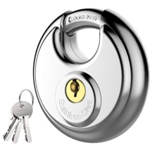Best Keyed Padlock with Stainless Steel for Garage, Fence and Storage Unit