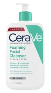 CeraVe Forming Facial Cleaner – Daily Best Face Wash for Oily Skin