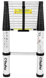 Ohuhu 12.5 FT Aluminum Telescopic Best Extension Ladder