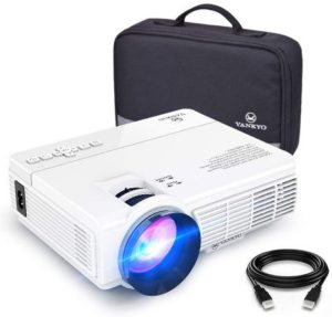 VANKYO LEISURE 3 Mini one of Best Projectors Under 100, 1080P and 170'' Display Supported 3600L Portable Movie Projector with 40,000 Hrs LED Lamp Life…