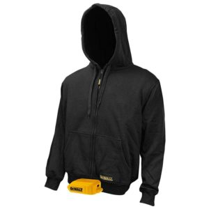 DEWALT Heated hoodie jacket – 20V 12V Max Bare Hooded Best Heated jacket