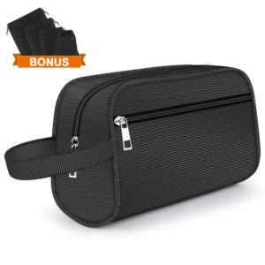 Hanging Toiletry Bag – Portable Storage for Best Travel Bags for Men, Business Trip or Vacation Bag
