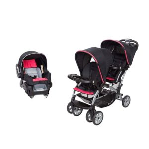 Baby Trend Double Sit and Stand Stroller System and Travel Car Seat