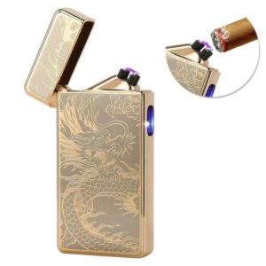 Best Windproof Lighter with USB Rechargeable and No Flame