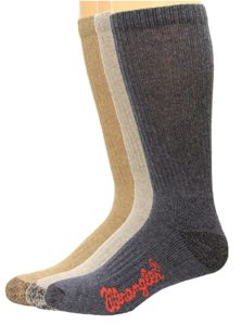 Riggs Casual Best Boot Sock, 3 Pair