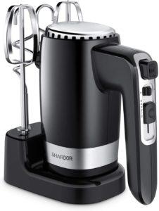 SHARDOR Best Hand Mixer Powerful 300W Ultra Power Handhold Mixer Electric Hand Mixers…