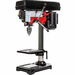 Stark 8-inch Drill Press 5 Speed Stationary Bench 1 3 HP Motor Adjustable Workbench Wood Drilling 300w