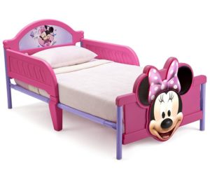 Best Toddler Bed Delta 3D, Disney Minnie Mouse