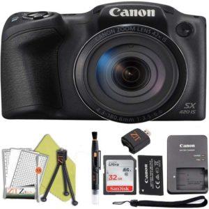 Canon Powershot SX420 is 20 MP Wi-Fi Digital Camera with 42x Zoom (Black) ZeeTech…