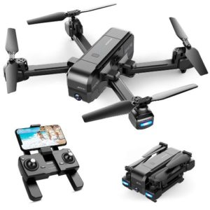 Foldable GPS FPV Drone with 2.7K Camera, UHD Live Video RC Quadcopter, Auto Return