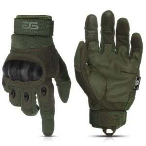 Glove Station Tactical Rubber Knuckle Gloves