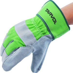 Leather Best Work Gloves, Split Leather Design, Fits Both Men and Women - All-Season, Perfect for Mechanics…