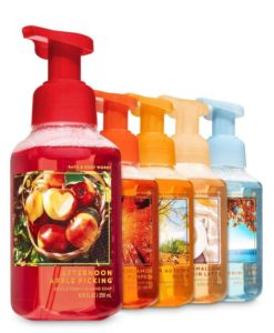 Bath and Body Works Fall Favorites - Set of 5 Foaming Hand Soaps - Sweet Cinnamon Pumpkin, Marshmallow Pumpkin Latte…