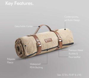 Best Waterproof & Foldable Picnic Blanket