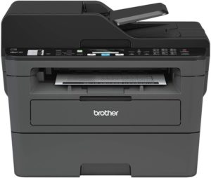 Brother Monochrome Laser Printer Compact All-In-One Printer, Multifunction Printer, MFCL2710DW, Wireless Networking and Duplex Printing…