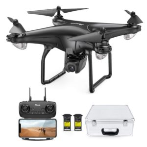 FPV Drone with 1080P Camera, 5G WiFi HD Live Video, GPS Auto Return, RC Quadcopter, Portable Case, 2 Battery, Follow Me, Easy Selfie