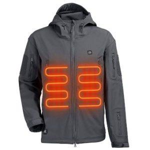 ITIEBO Men's Heated Jacket – Waterproof Hoodie