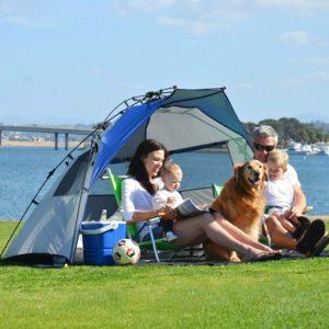 Lightspeed Outdoors Quick Cabana Best Beach Tent Sun Shelter