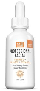 M3 Naturals Professional Facial Vitamin C+, Collagen and Stem Cell