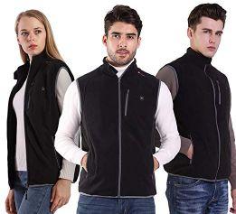 PROSmart Best Heated Vest Polar Fleece Lightweight for Men and Women (Unisex)