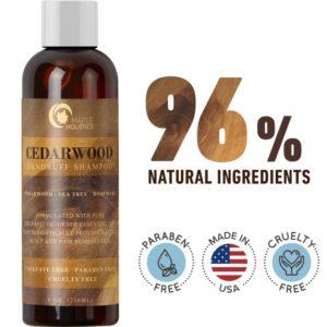 Anti-Dandruff Thickening Shampoo with Cedarwood Essential Oil