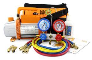 BACOENG HVAC A C Refrigeration Kit - Diagnostic R12 R22 R134a R410A…