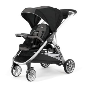 Chicco BravoFor 2, Best sit and Stand Stroller for 2 Children, Iron