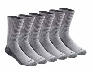 Dickies Men's Moisture Control Crew Socks