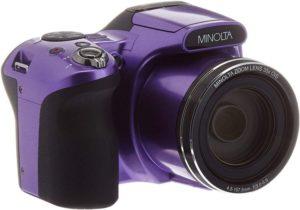 Minolta 20 Mega Pixels Best Camera under 300 with Wi-fi 35x Optical Zoom & 1080p HD Video…
