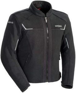Cortech Men's Fusion Motorcycle Jacket - Vented Waterproof Riding Jacket for all seasons
