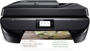 HP OfficeJet 5255 Wireless All-in-One Printer, HP Instant Ink or Amazon Dash replenishment ready (M2U75A) (OJ 5255), Black