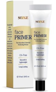 SOZGE Face Best Primers For Oily Skin - Primer for Pores and Wrinkles - Brightens - Moisturizing Makeup - Concealer - Invisible Pores